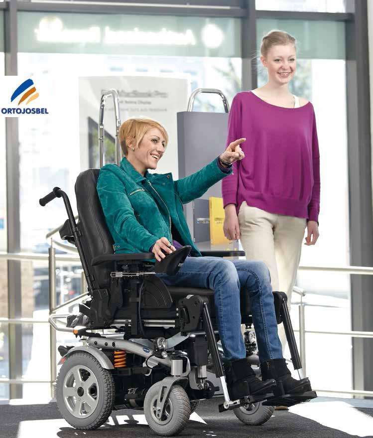 BORA PLUS INVACARE SILLA ELECTRICA