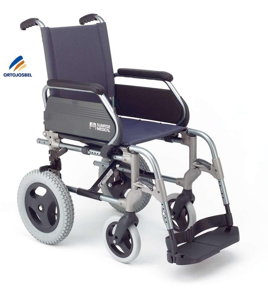 Plegable ligera sunrise medical - Silla ruedas plegable ...